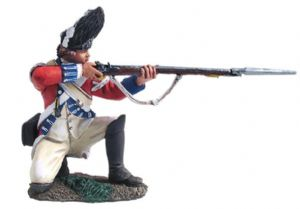 WB18035 British Royal Irish Grenadier Kneeling Firing